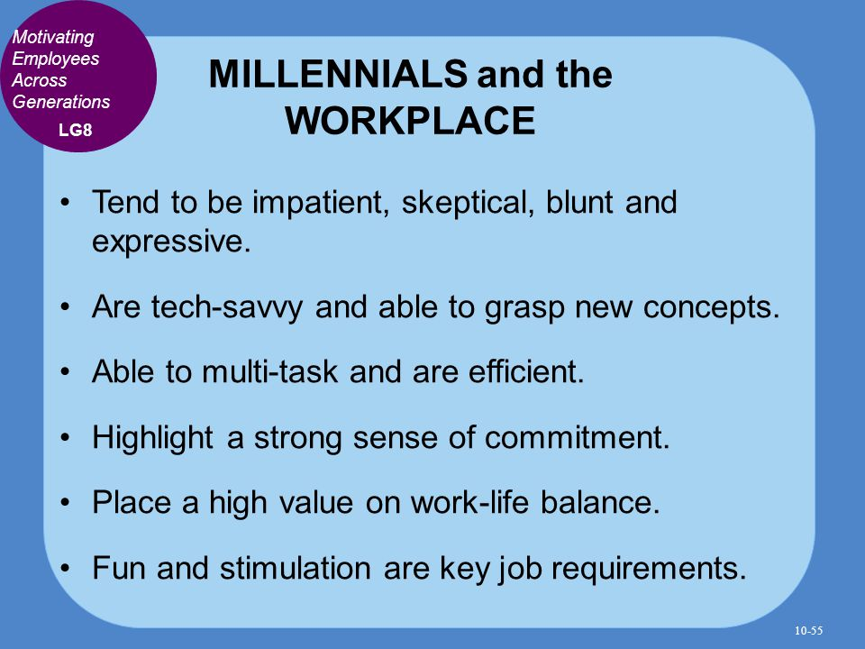 Motivating the generation y in the workplace Essay Academic - gen y in the workplace