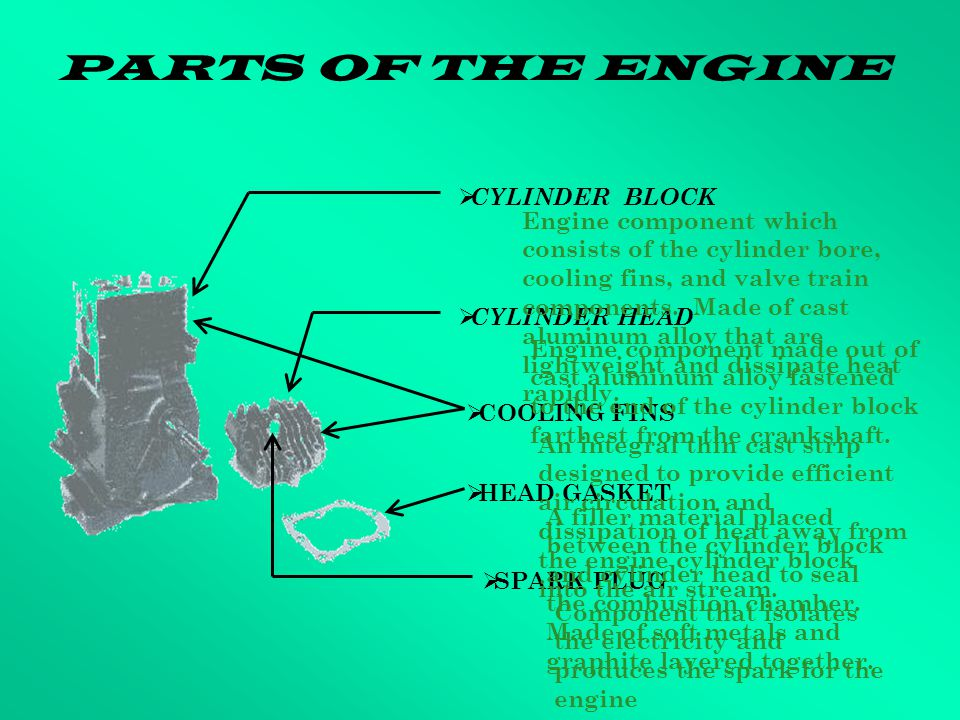SMALL ENGINES ENGINE OPERATION FOR A FOUR STROKE ENGINE - ppt download