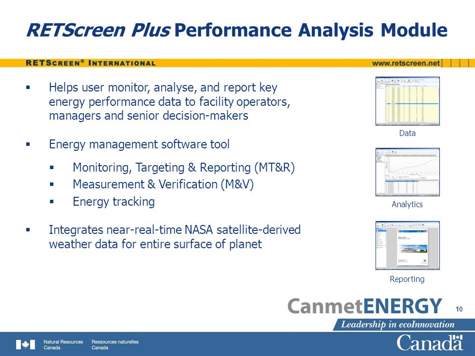 Energy Performance Analysis with RETScreen - ppt video online download