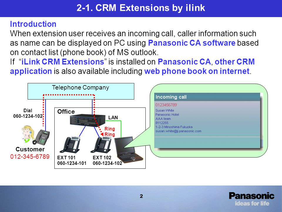 2 Database Integration \u201cCRM Extensions\u201d by ilink - ppt video online