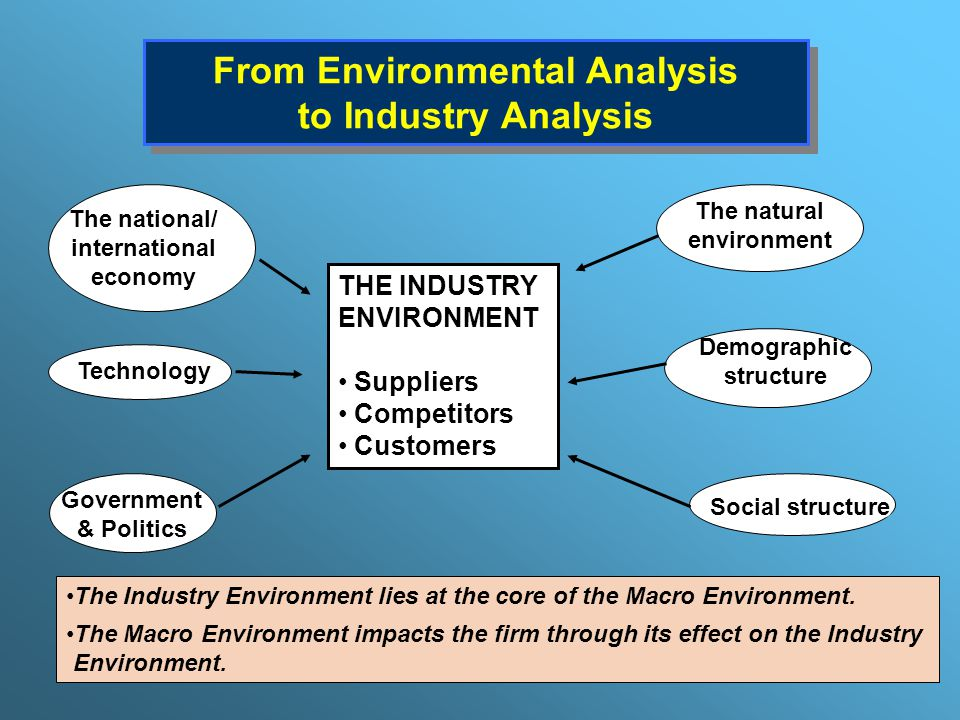 Industry Analysis The Fundamentals - ppt download