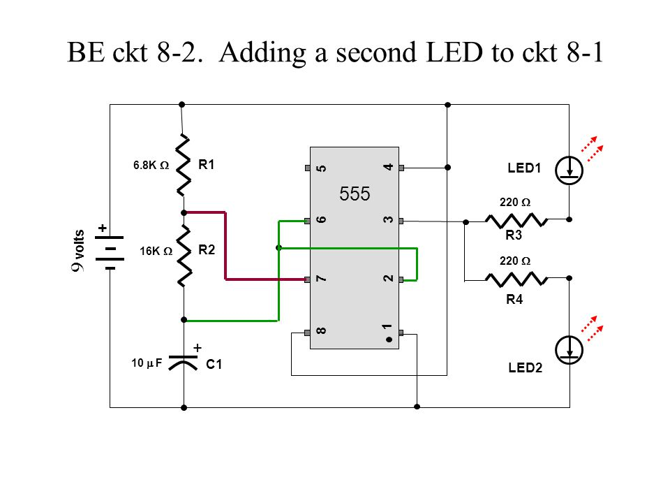 BE Lesson 8 Using the 555 IC timer chip  - ppt video online download