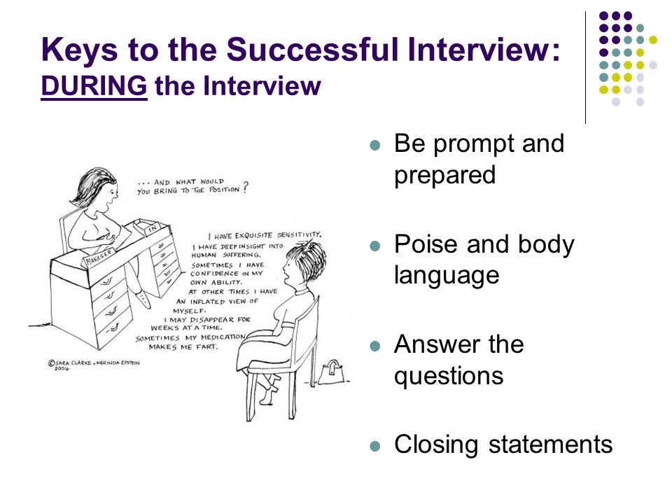 SUCCESSFUL INTERVIEWING TIPS AND TECHNIQUES - ppt video online download