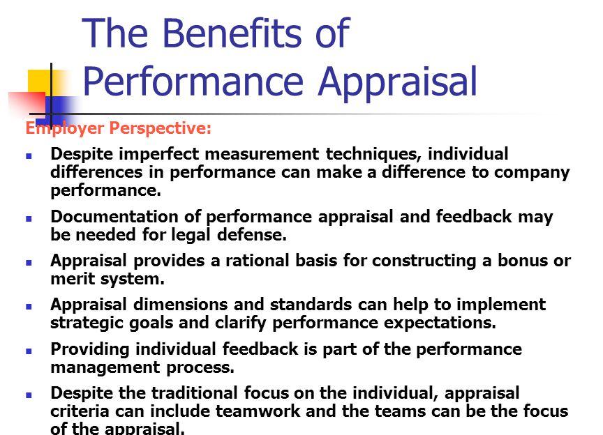 Performance Appraisal - ppt video online download