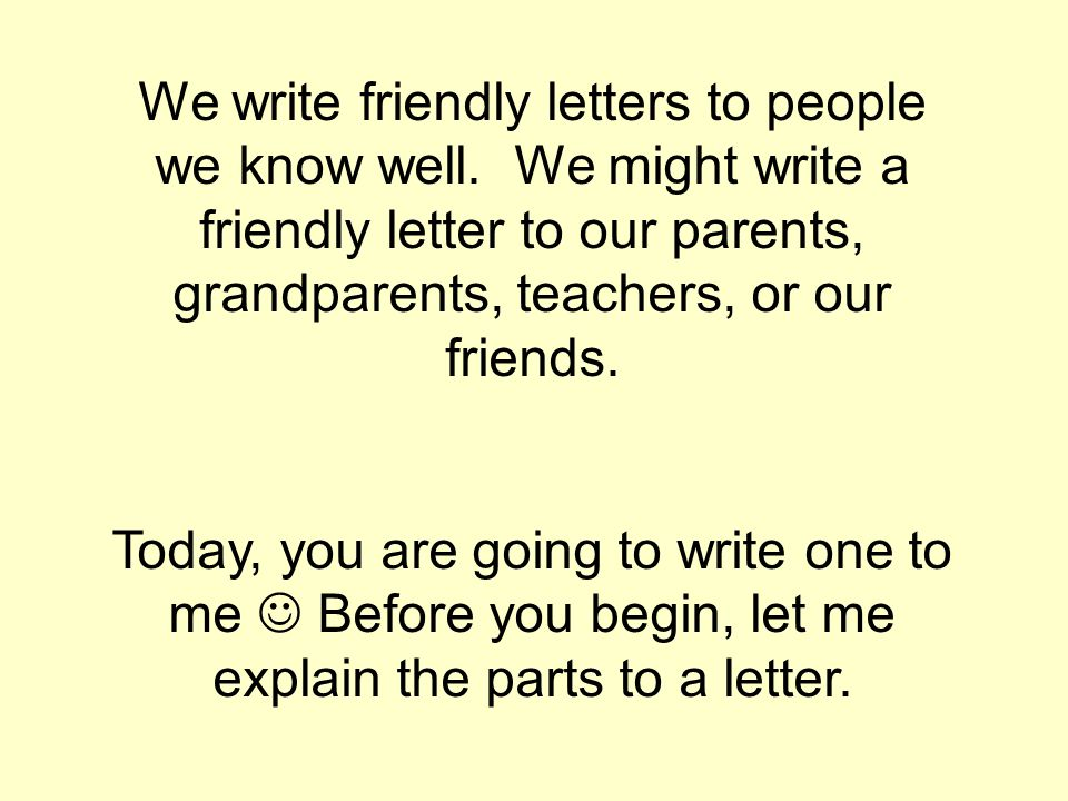 Letter Writing Creative Writing Assignment - ppt video online download - assignment letter