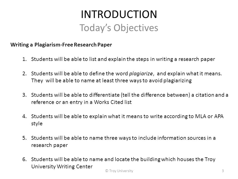 Writing an introduction for a research paper apa style Coursework