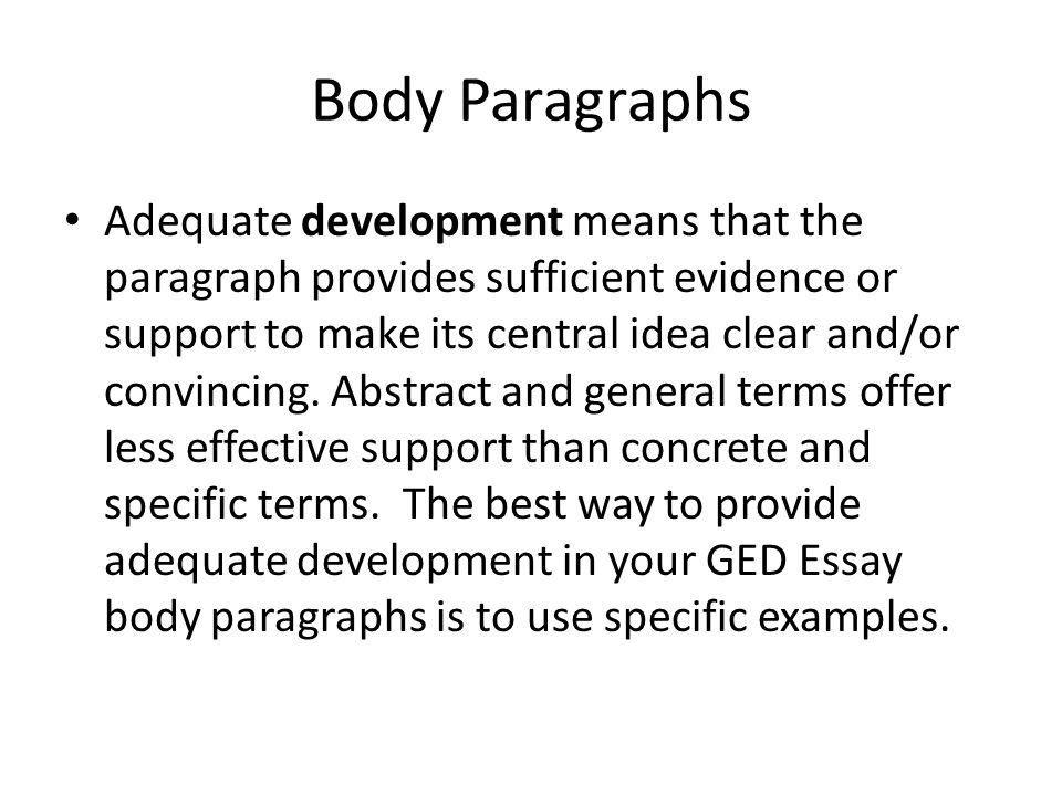GED Essay - ppt download