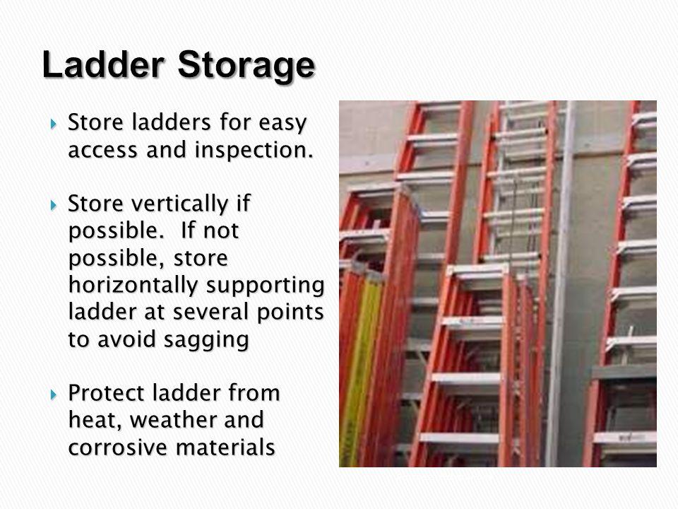 Osha Ladder Storage Standards Dandk Organizer
