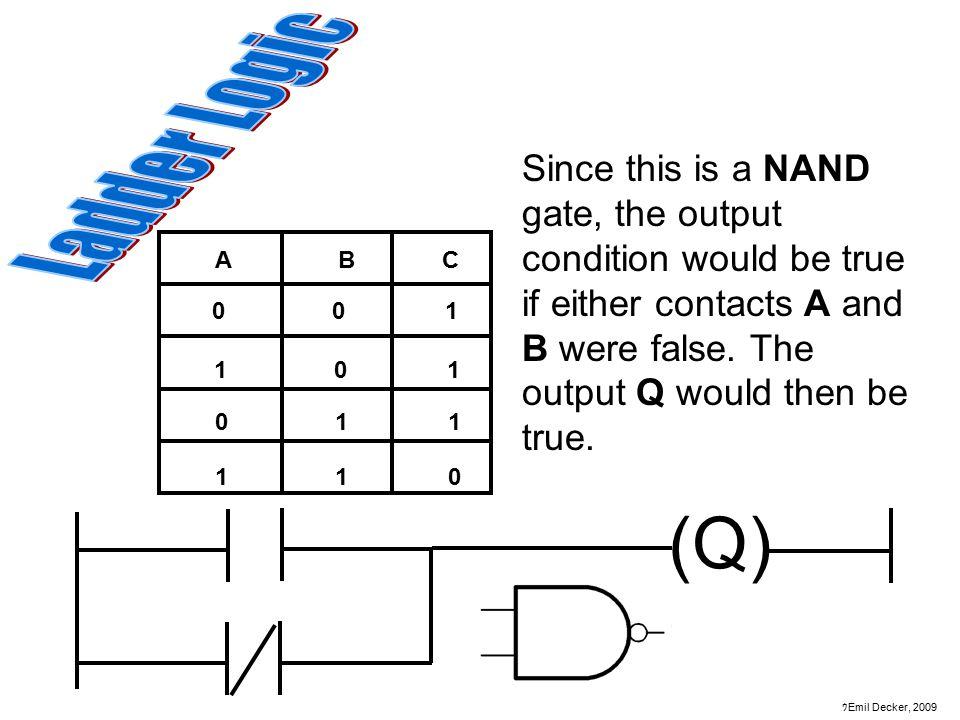 Ladder Logic Diagram Nand Gate Download Wiring Diagram