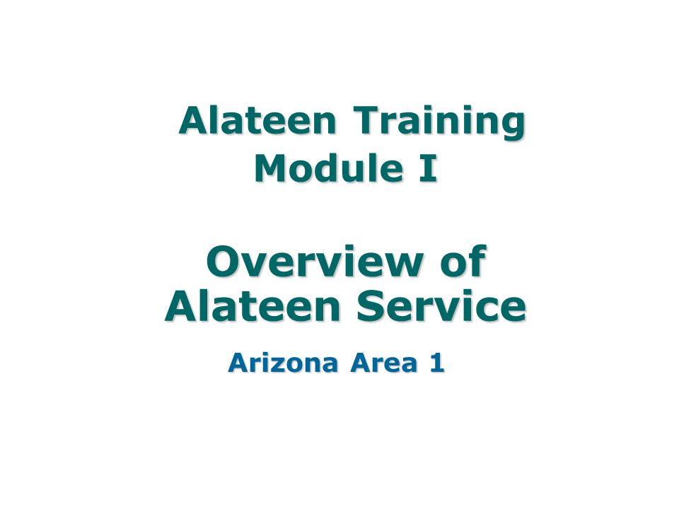 Alateen Training Module I Overview of Alateen Service - ppt download