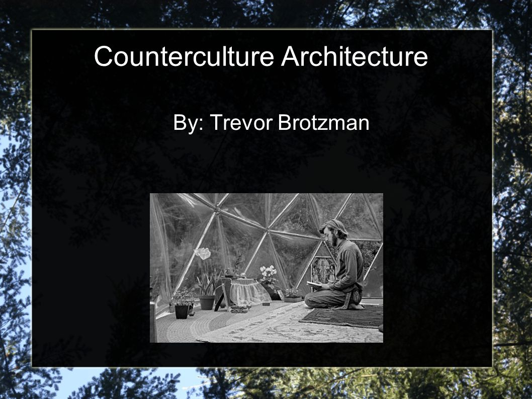 Counterculture Architecture Ppt Video Online Download