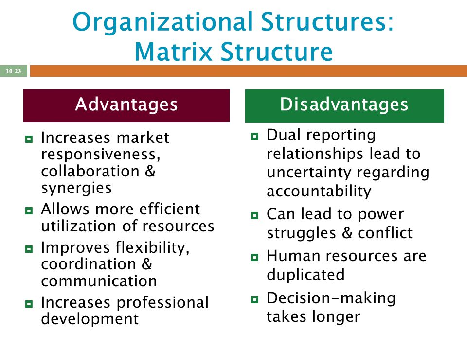The advantages and disadvantages of microsoft organization Term - microsoft organizational structure