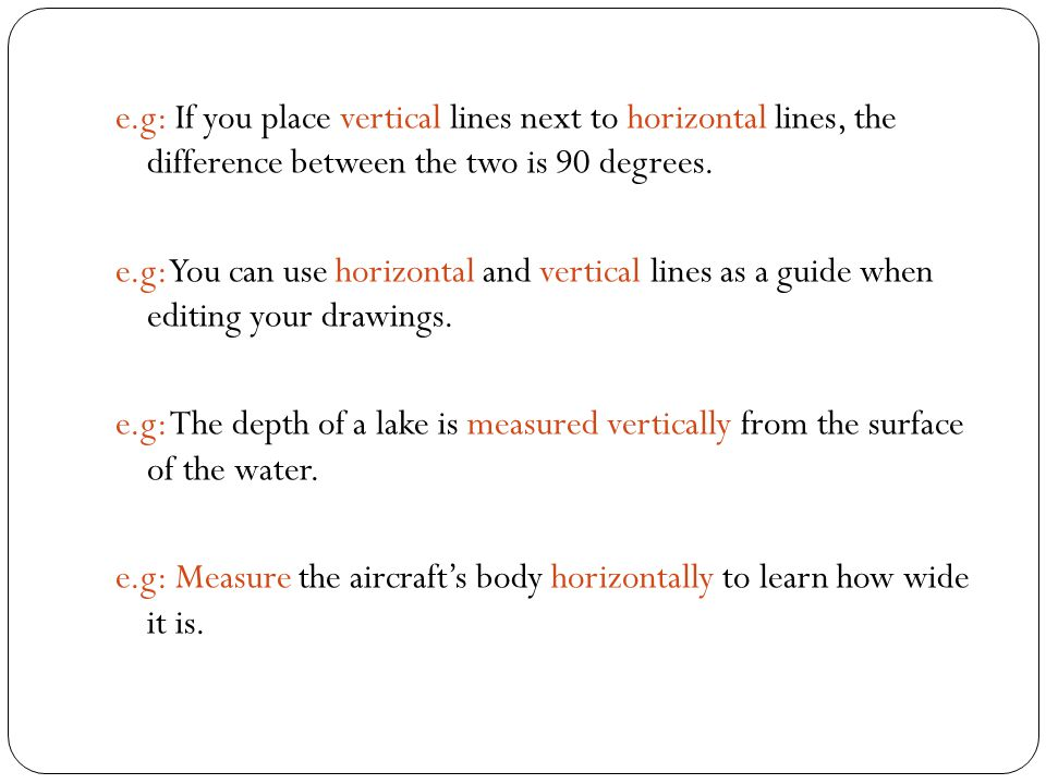 HORIZONTAL AND VERTICAL MEASUREMENTS - ppt video online download