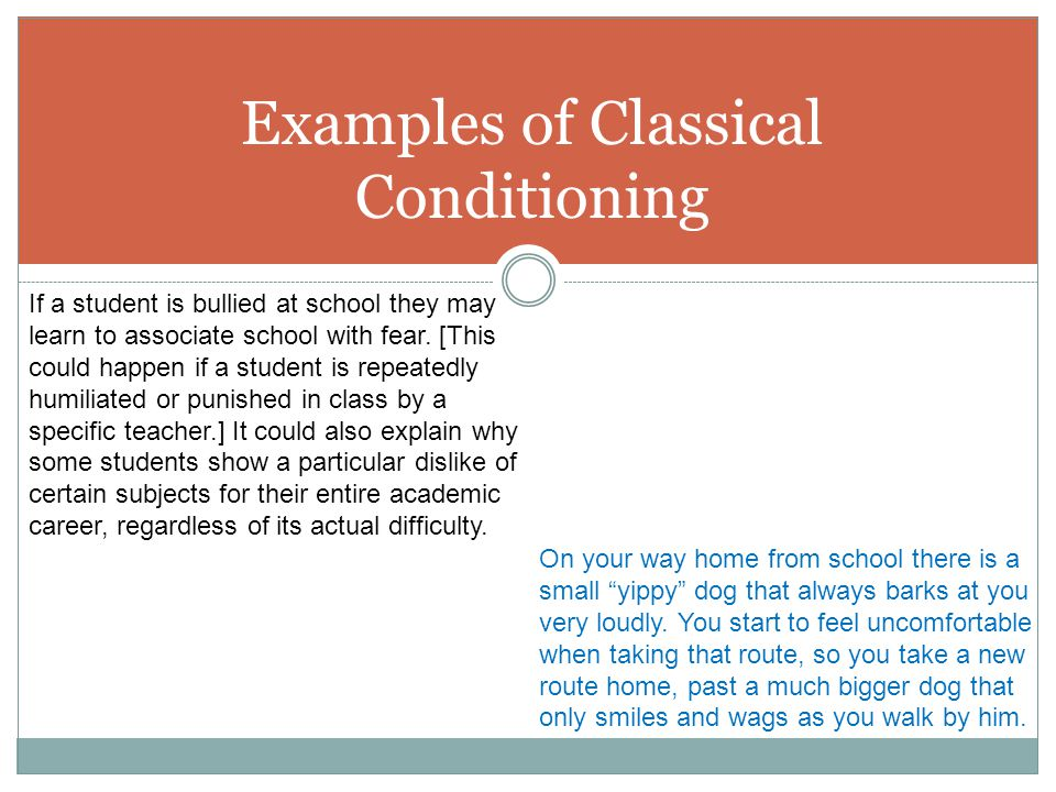 Examples Of Classical Conditioning kicksneakers - examples of classical conditioning
