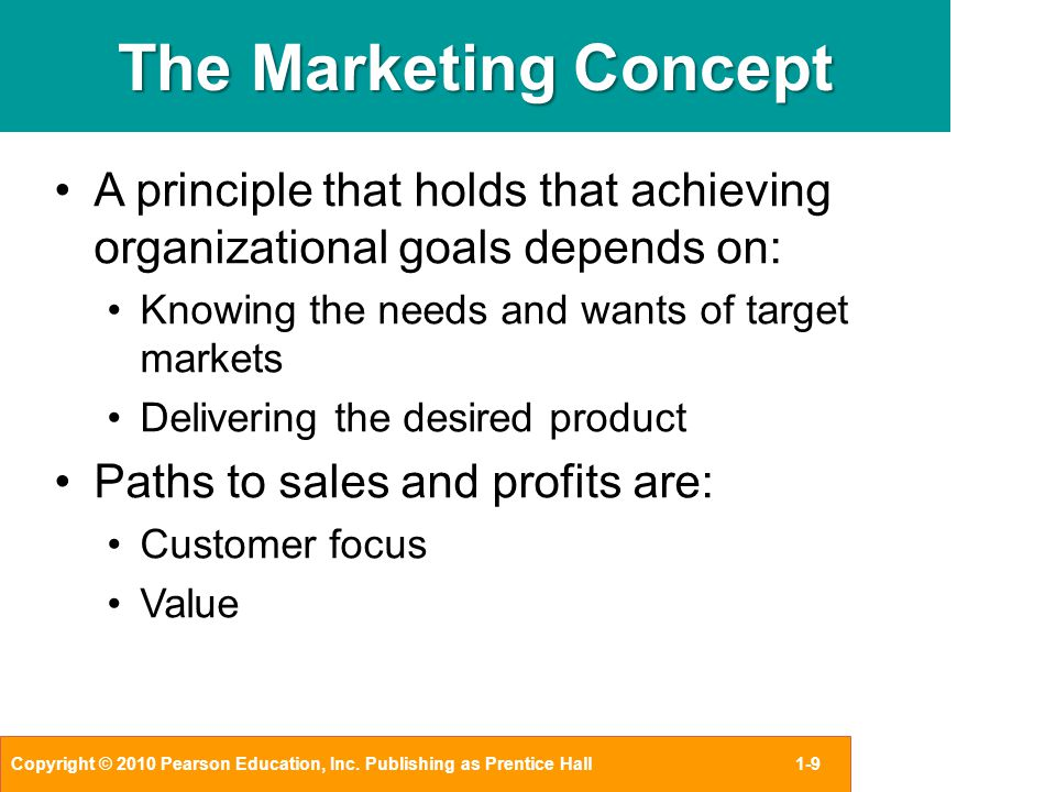 CHAPTER 1 Personal Selling and the Marketing Concept - ppt video