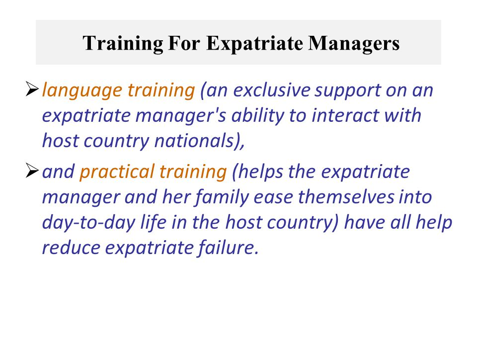 Chapter 5 Global Human Resource Management - Ppt Video Online
