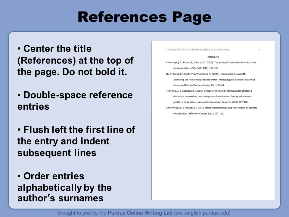 APA Formatting and Style Guide - ppt video online download