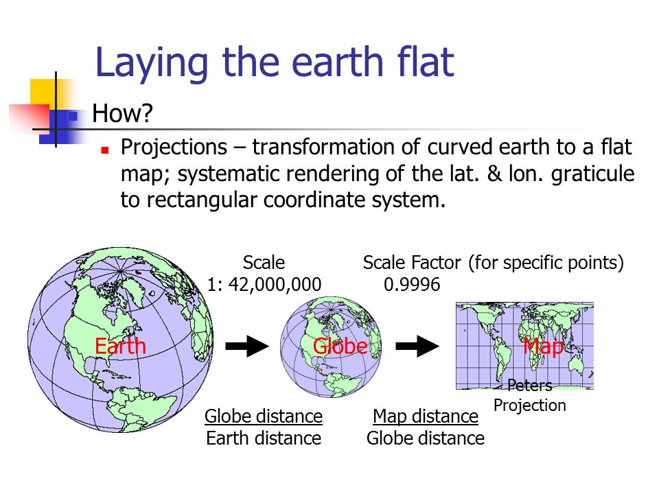 1 Earth Shape Models Flat earth models are still used for plane