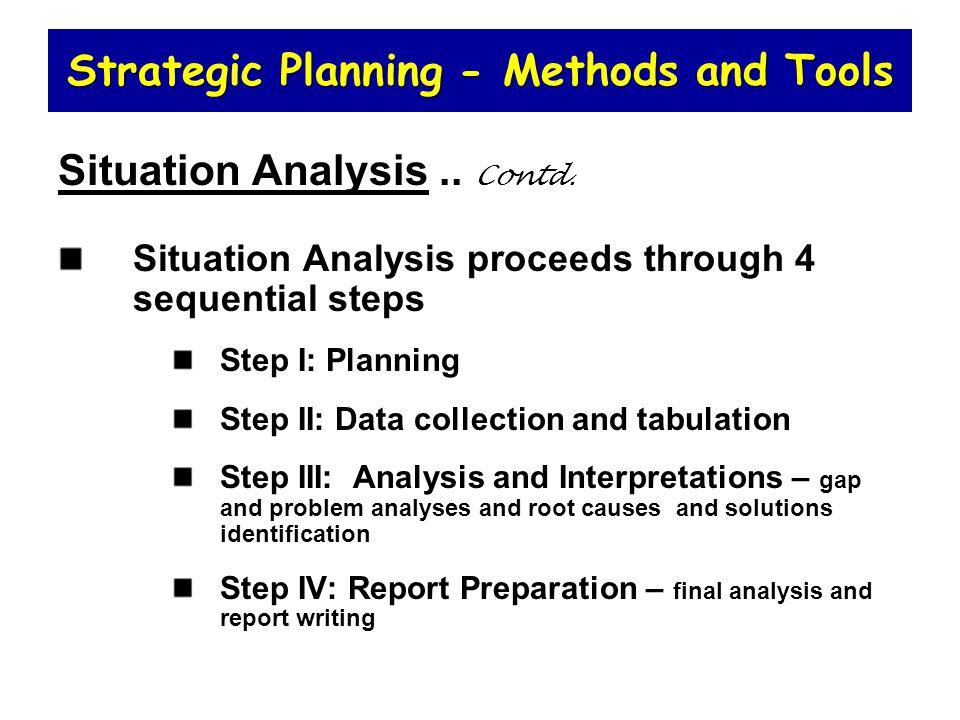 The tools of strategic analysis Essay Help - strategic analysis report