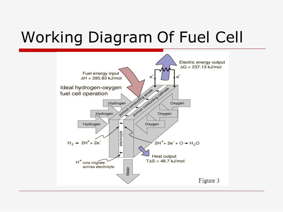 hydrogen fuel cell diagram