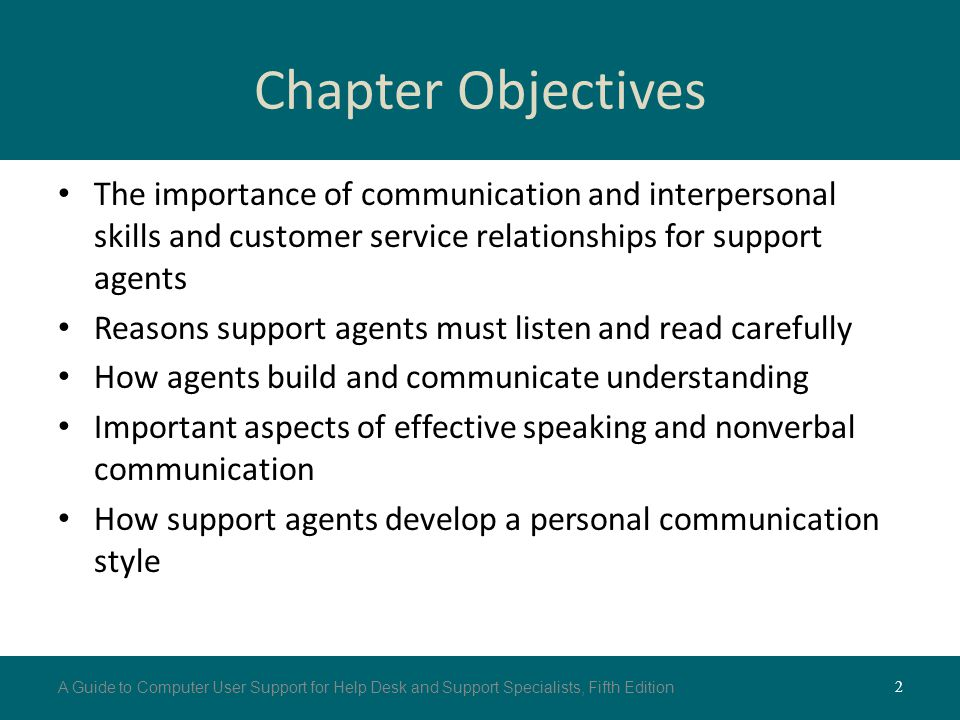 Customer Service Skills for User Support Agents - ppt video online