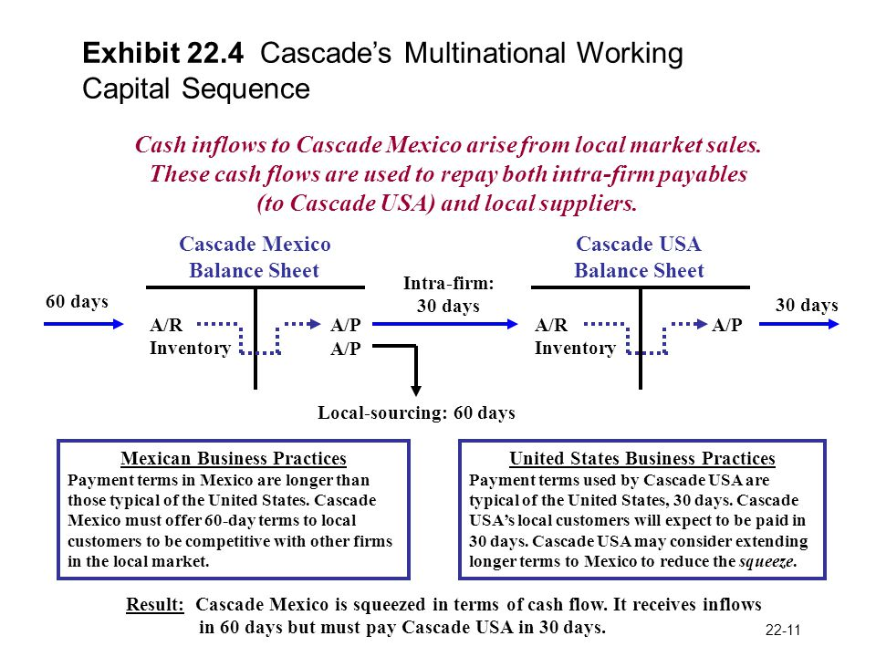 Working Capital Management in the MNE - ppt video online download