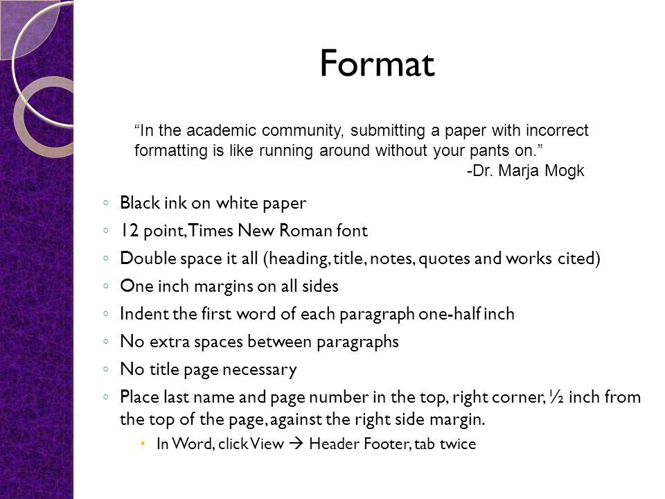 Elements of MLA Format and Documentation - ppt video online download