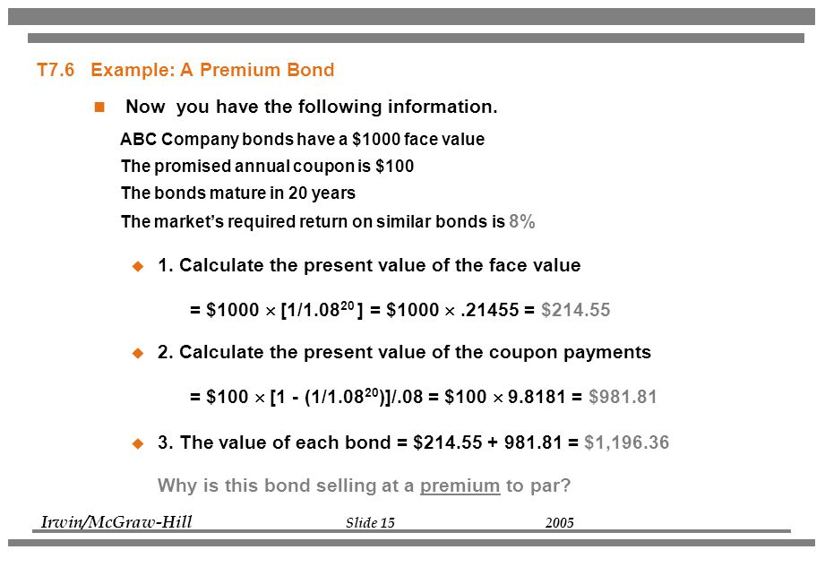 Chapter 7 Interest Rates and Bond Valuation - ppt video online download