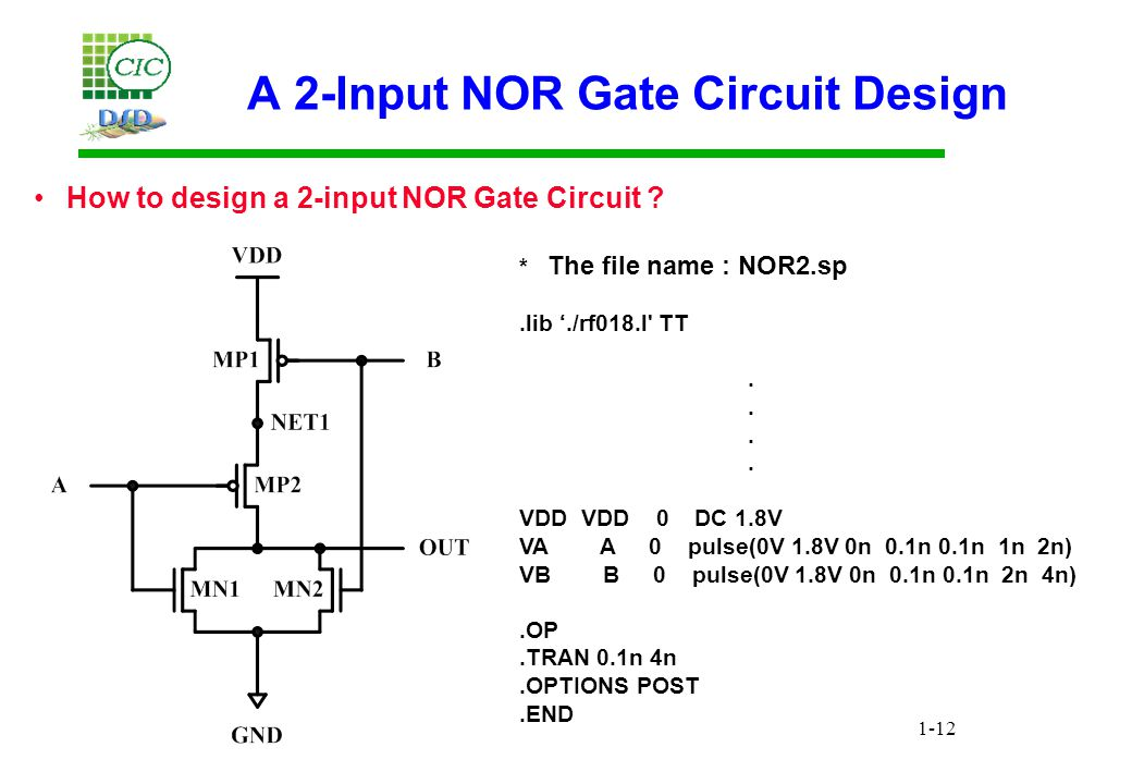 Circuit Simulation and Analysis with HSPICE - ppt video online download