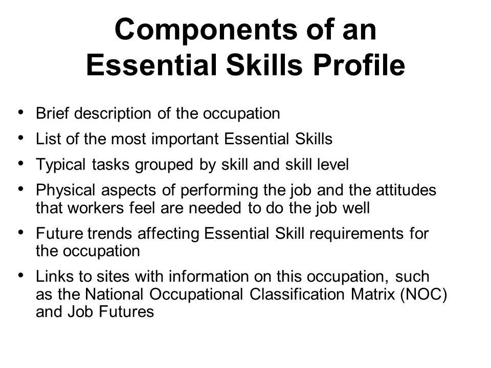 Essential Skills and the Ontario Skills Passport edu - ppt download