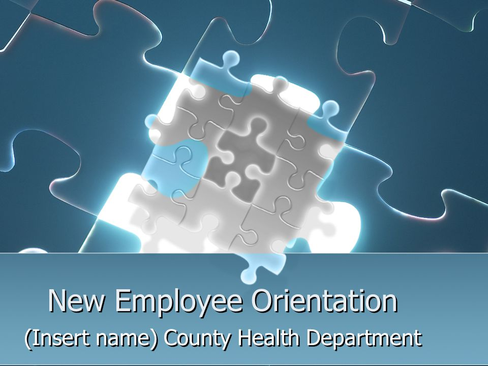 New Employee Orientation - ppt video online download