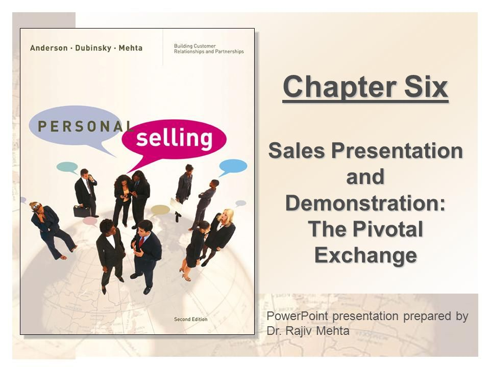 Sales Presentation and Demonstration The Pivotal Exchange - ppt
