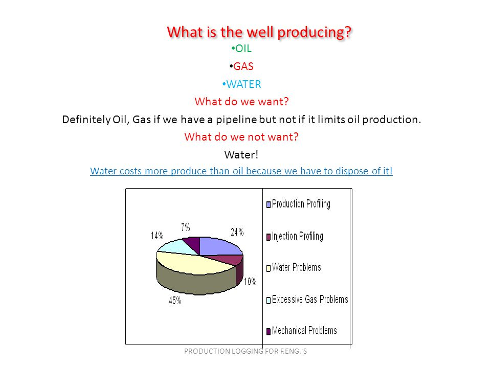 Production Logging for Field Engineers - ppt video online download