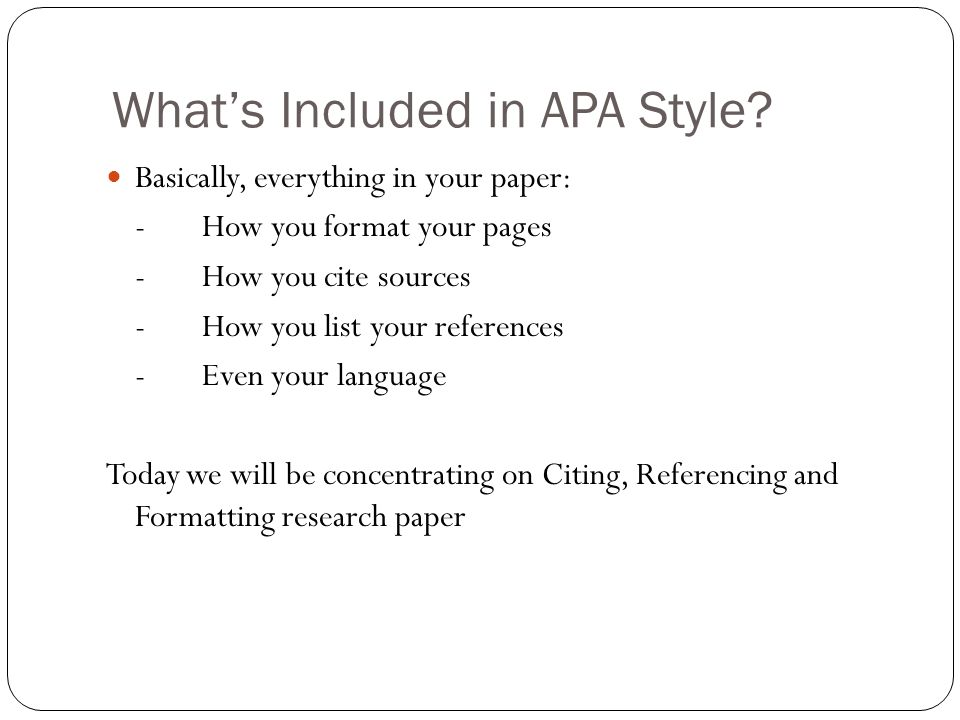 APA 6th ed Citing  Referencing - ppt video online download