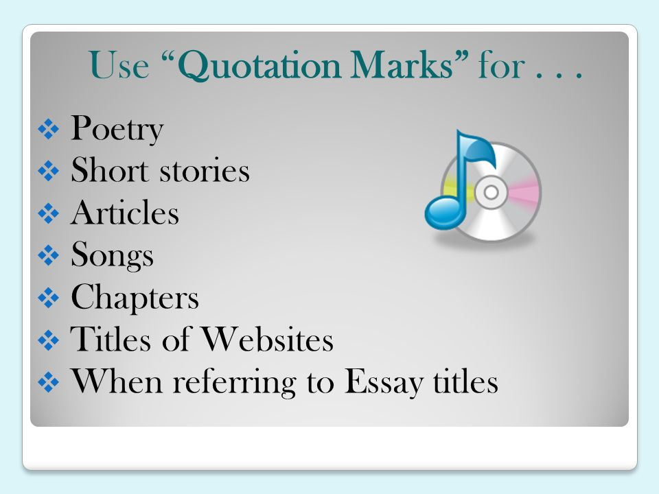 Punctuating Titles - ppt video online download