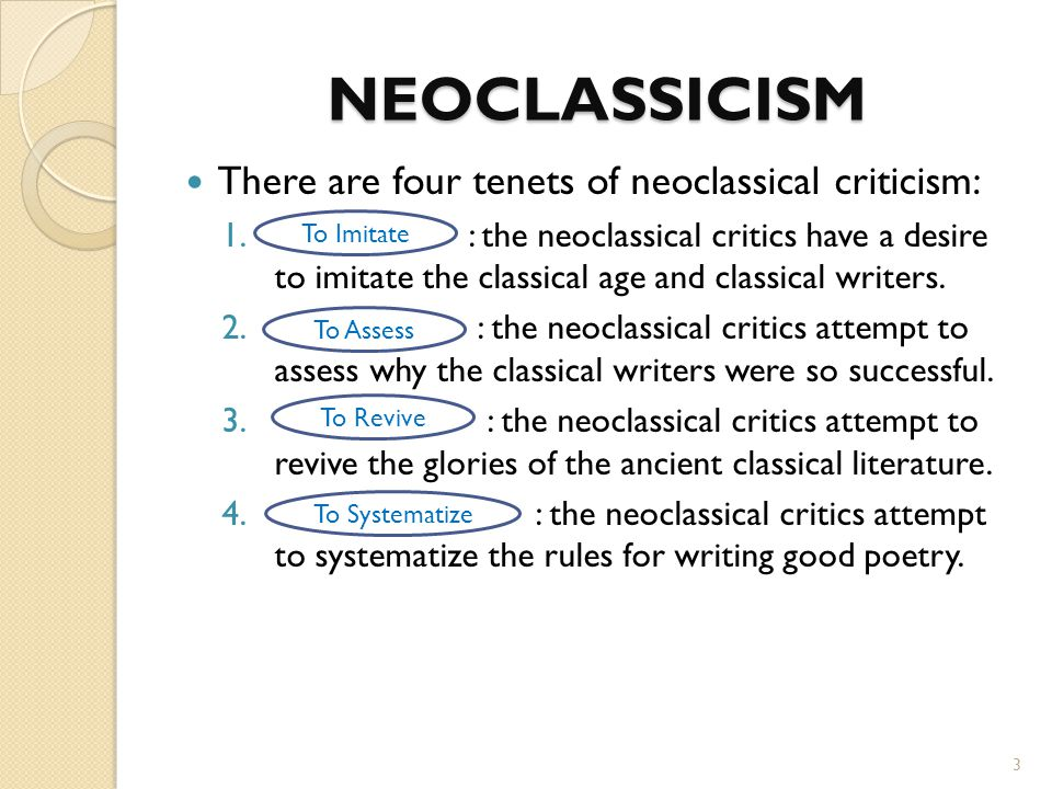 THE NEOCLASSICAL LITERARY CRITICISM HORACE  LONGINUS - ppt video