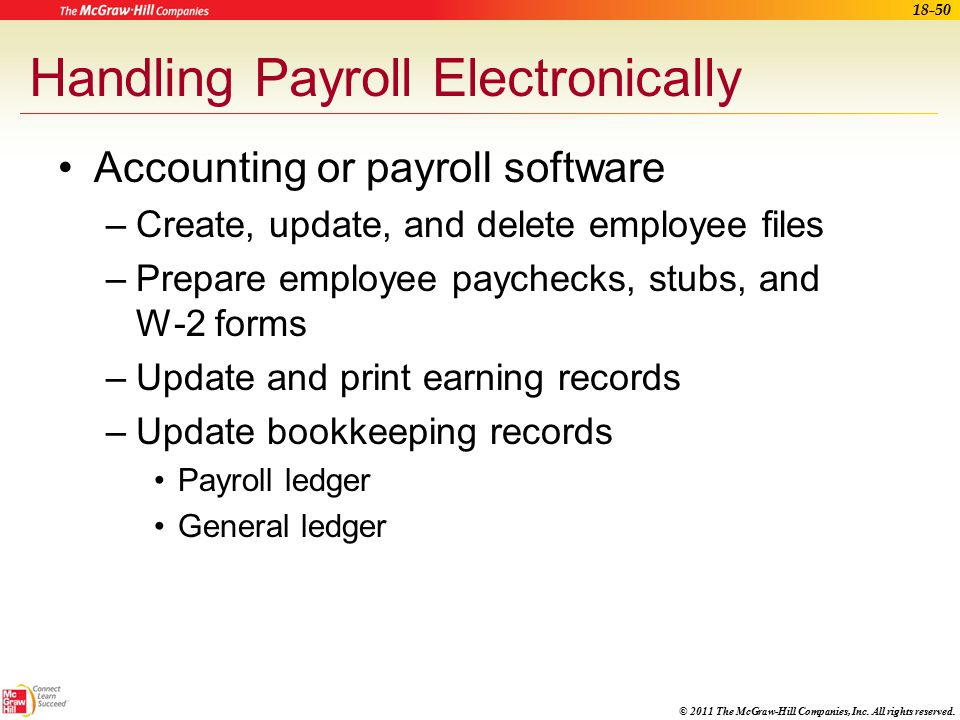 Accounting for the Medical Office - ppt video online download - payroll ledger sheet