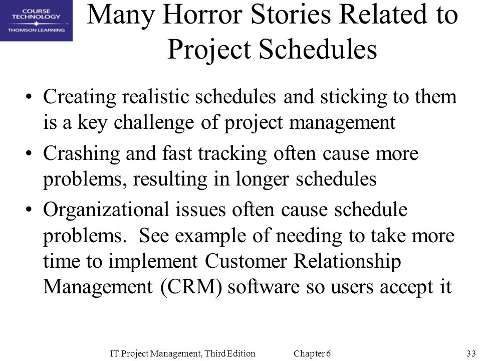 Chapter 6 Project Time Management - ppt video online download