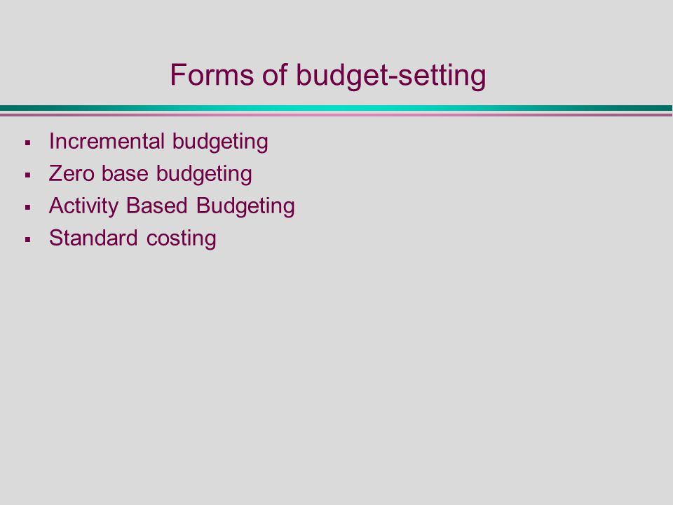 Managing Finance and Budgets - ppt video online download