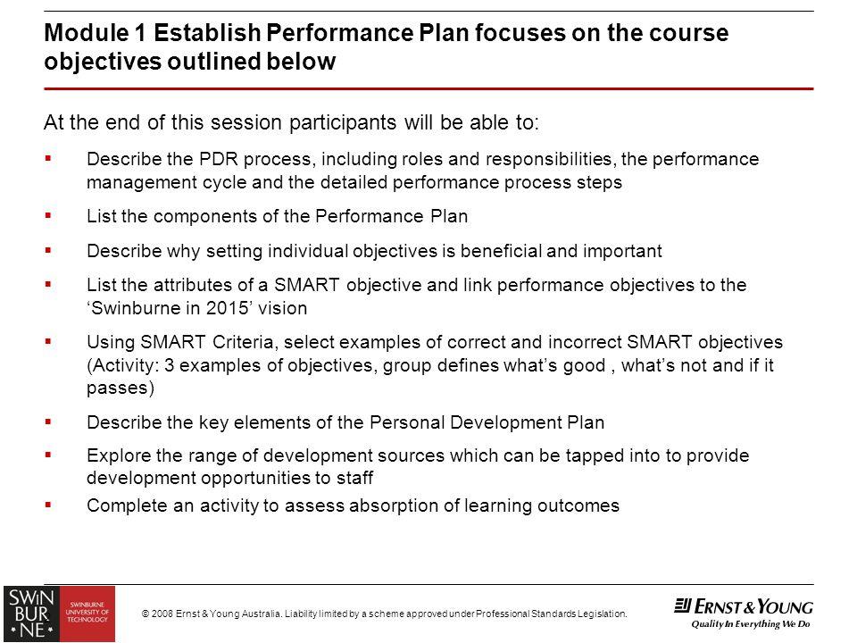 Module 1 \u2013 \u201cEstablish Performance Plan\u201d for General Staff - ppt download