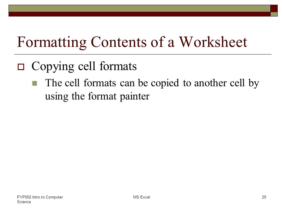 Lab 08 Introduction to Spreadsheets MS Excel - ppt video online download