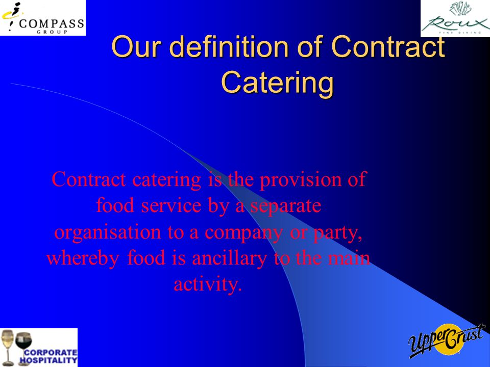 Contract Catering Yes or No - ppt video online download