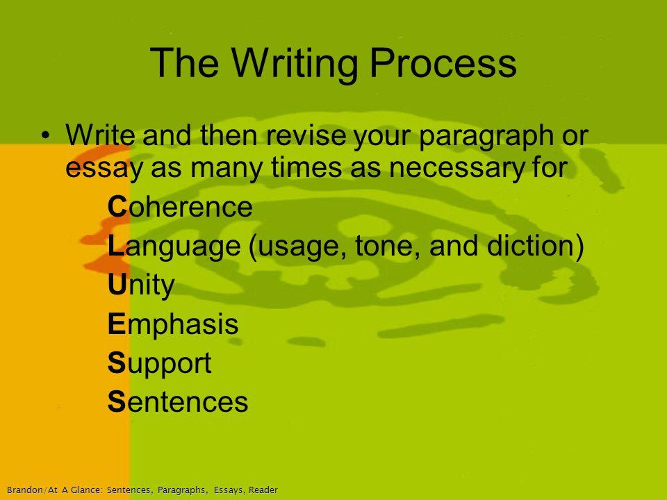 Revising Essays For Coherence Mistyhamel