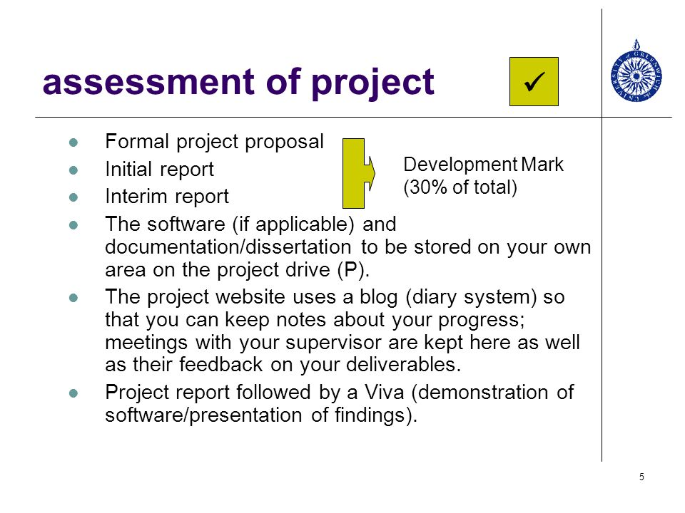 introduction to MSc projects - ppt download