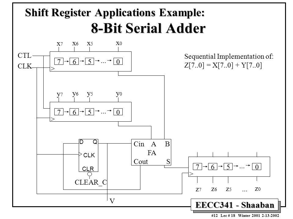 Registers  Counters Registers Shift Registers Counters - ppt