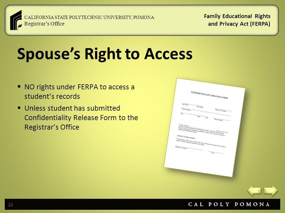 FERPA Basics - ppt video online download