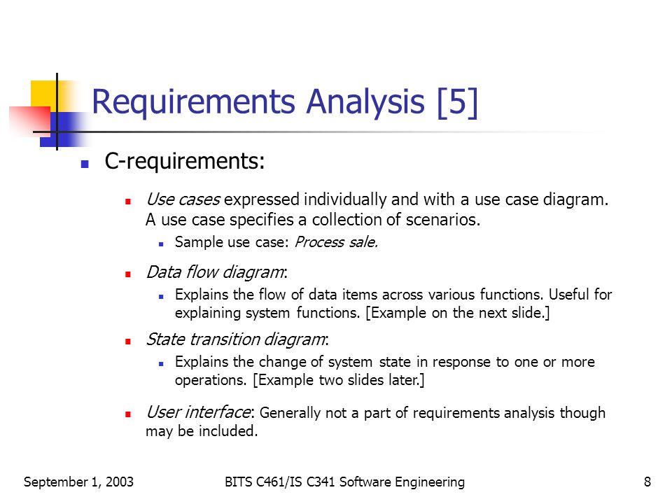 Requirements Analysis-1 - ppt download - requirement analysis