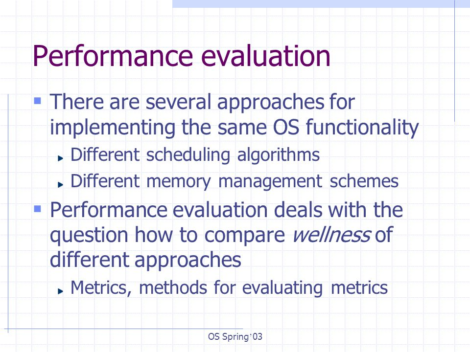 Performance Evaluation - ppt download