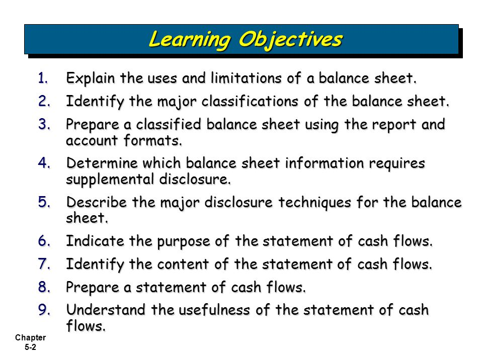 Examining the Balance Sheet and Statement of Cash Flows - ppt video - Balance Sheet Classified Format