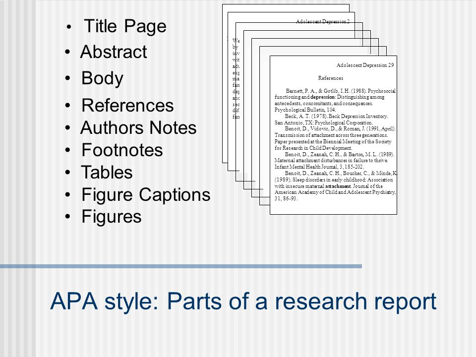 Reporting results APA style - ppt video online download